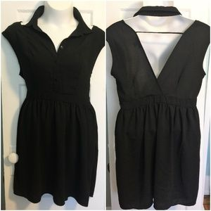 Black Backless & Sleeveless Forever 21 Dress - 2X